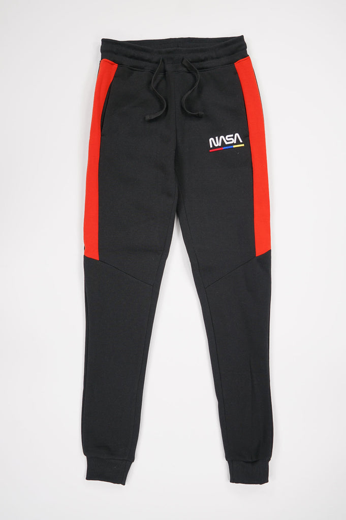 Southpole Women Nasa 3D Embo Print Fleece Jogger Pants