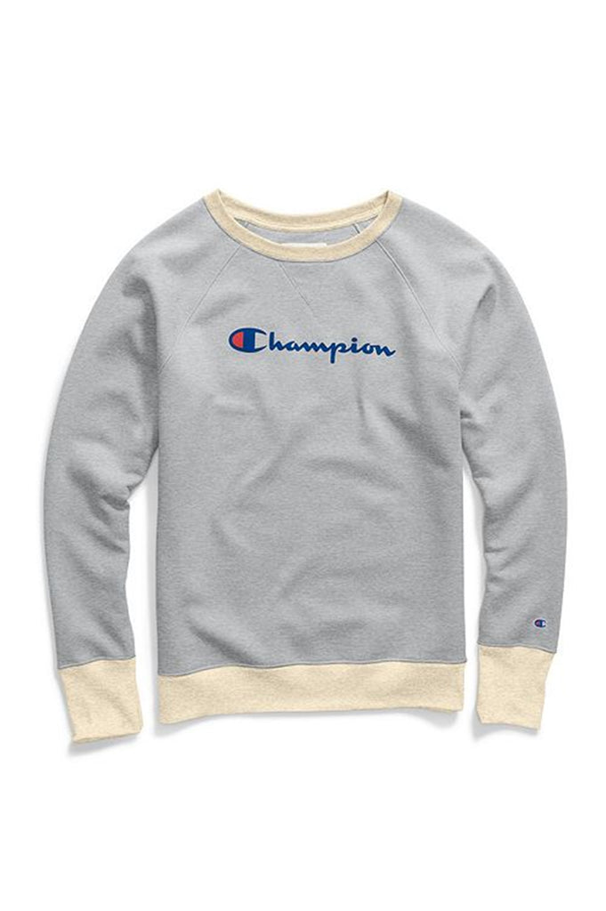Champion Women Powerblend Fleece Boyfriend Crew