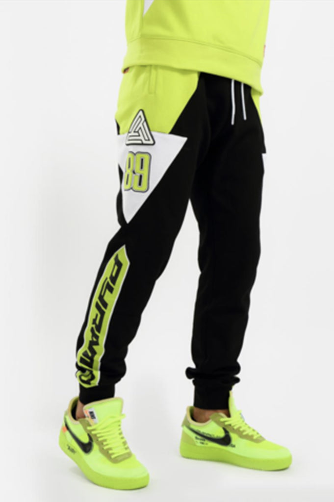Black Pyramid Men BMX Moto Joggers