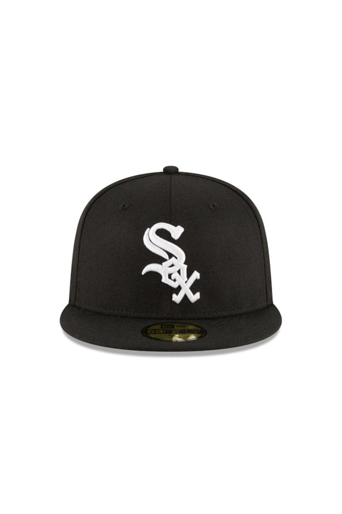 New Era Chicago White Sox New Era Black 2005 World Series Wool 59Fifty Fitted Hat
