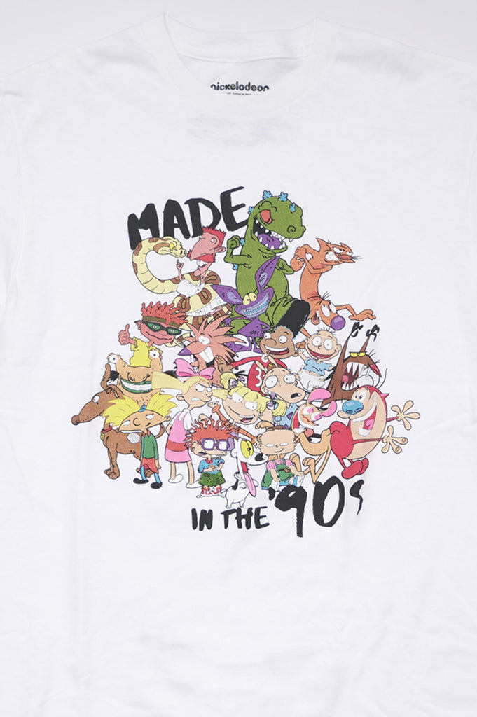 Aao Fashion Men Made In 90S Nickelodeon Graphic Tee