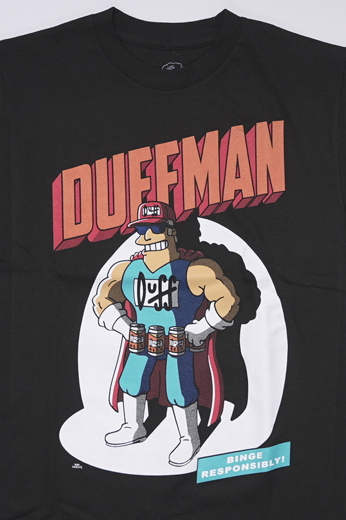 Aao Fashion Men Simpsons Duffman Comic Graphic Tee
