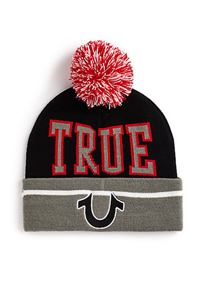 True Religion Acc Pom Pom Big Logo And Letter