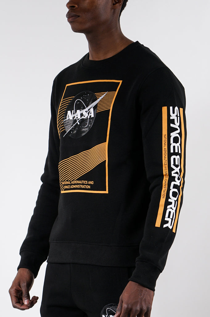 Wt02 X Nasa Men Fleece Crewneck
