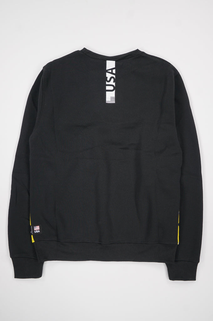 Southpole X Nasa Men Chenille Patch Crewneck Pullover