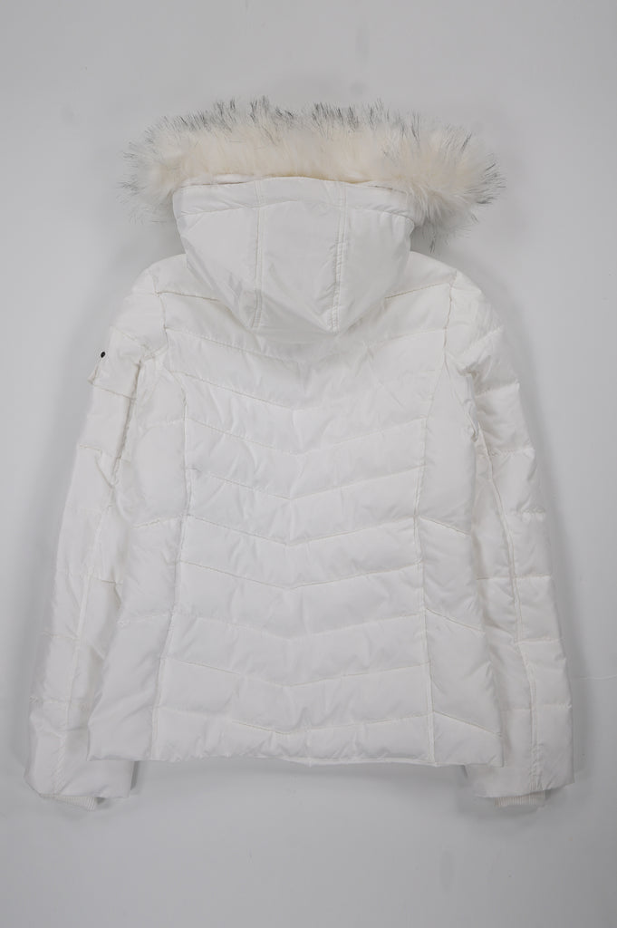 Southpole Women Mid Length Jacket W/Detachable Hood