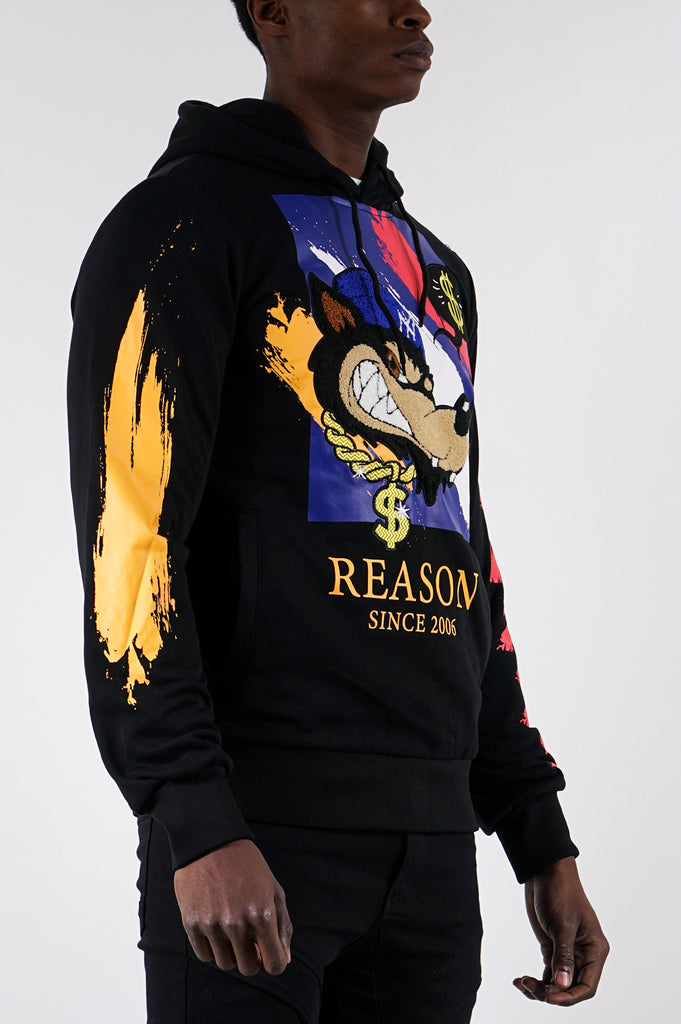 Reason Men Brushed Hoodie