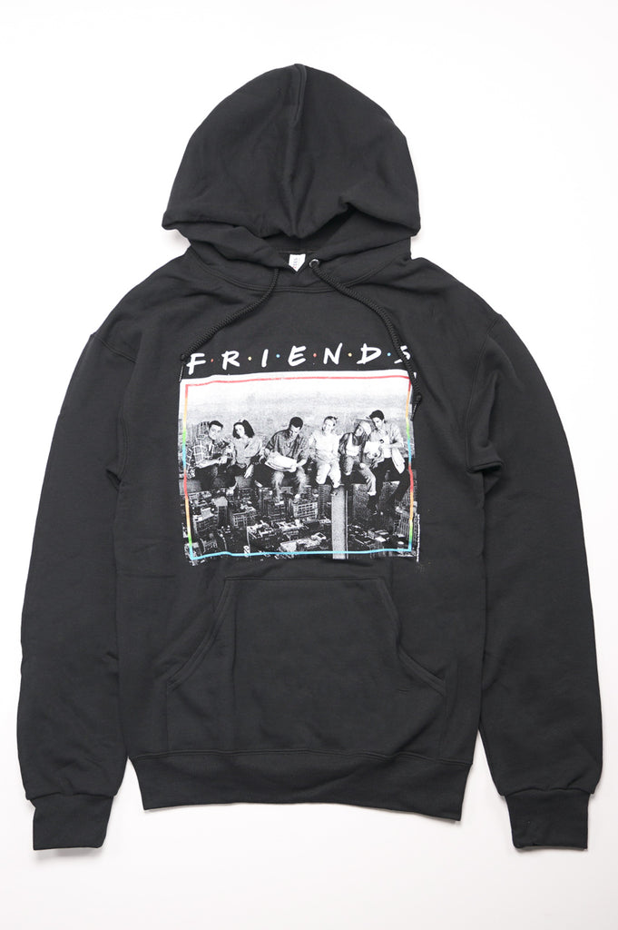 Aao Fashion Men Friends Graphic Pullover Hoodie