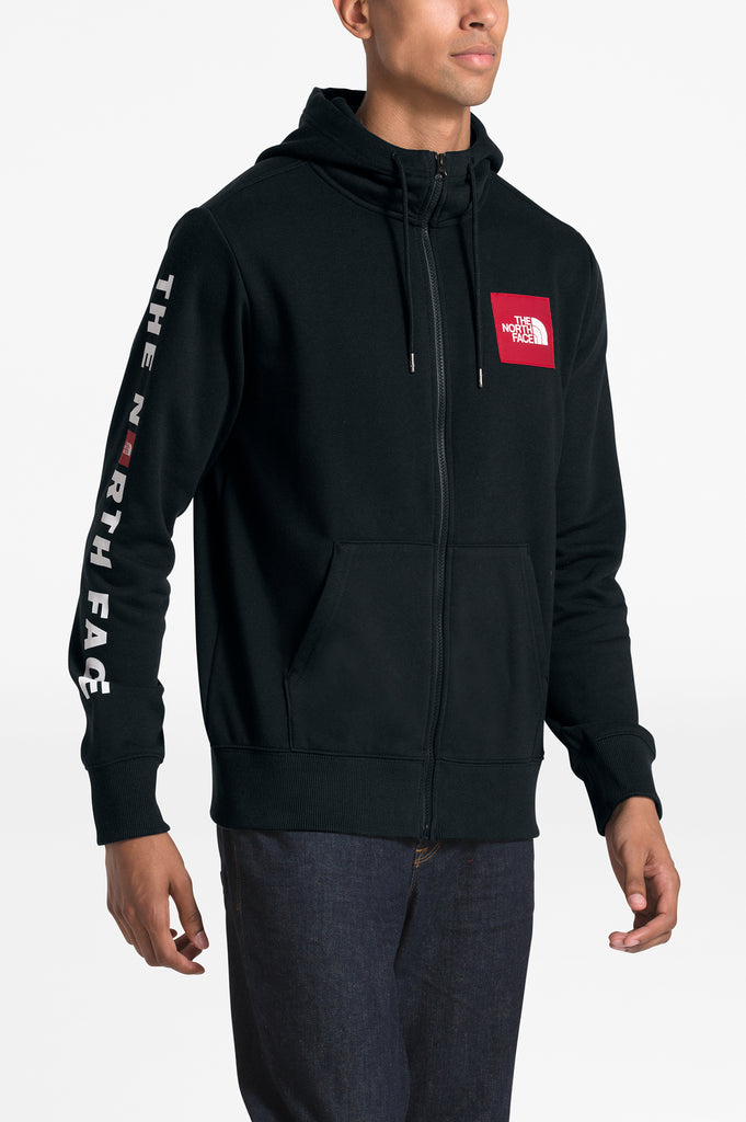 North Face Men Red Box Paptch Full Zip
