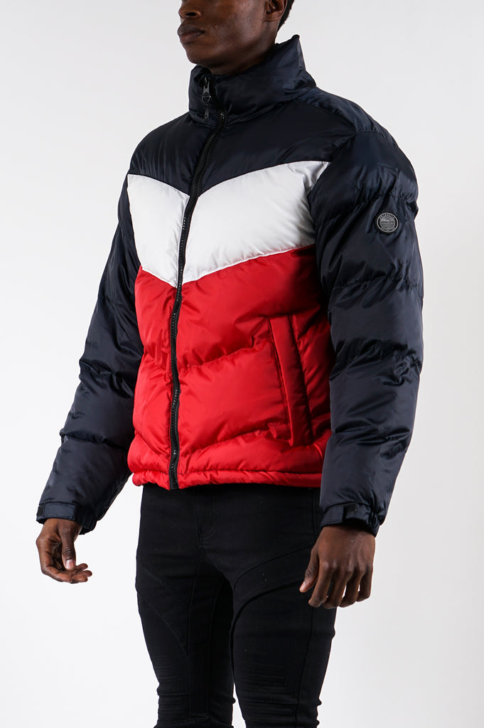 Southpole Men Color Block Bubble Jacket