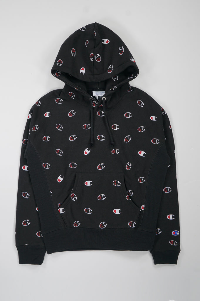 Champion Women All Over Print Pullover Hood