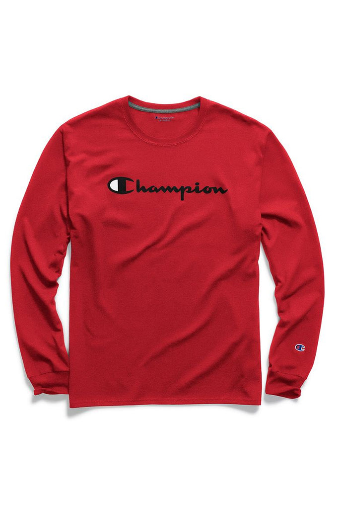 Champion Men Classic Jersey Long Sleeve