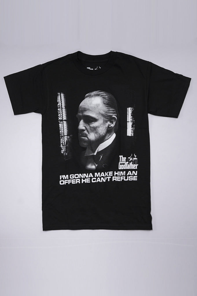Aao Fashion Men Godfather Graphic S/S Tee