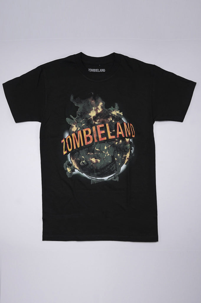 Aao Fashion Men Zombieland Logo S/S Tee