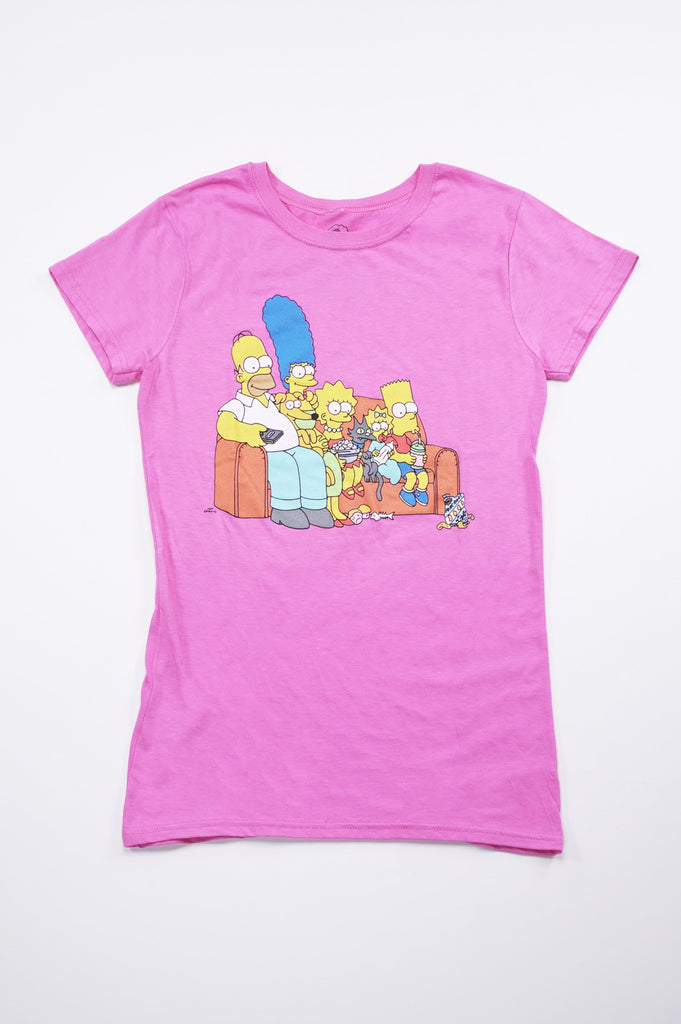 Aao Fashion Women Simpsons Couch-4 Graphic Tee
