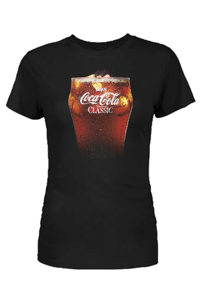 Aao Fashion Women Coke Photo Fizz Graphic Tee