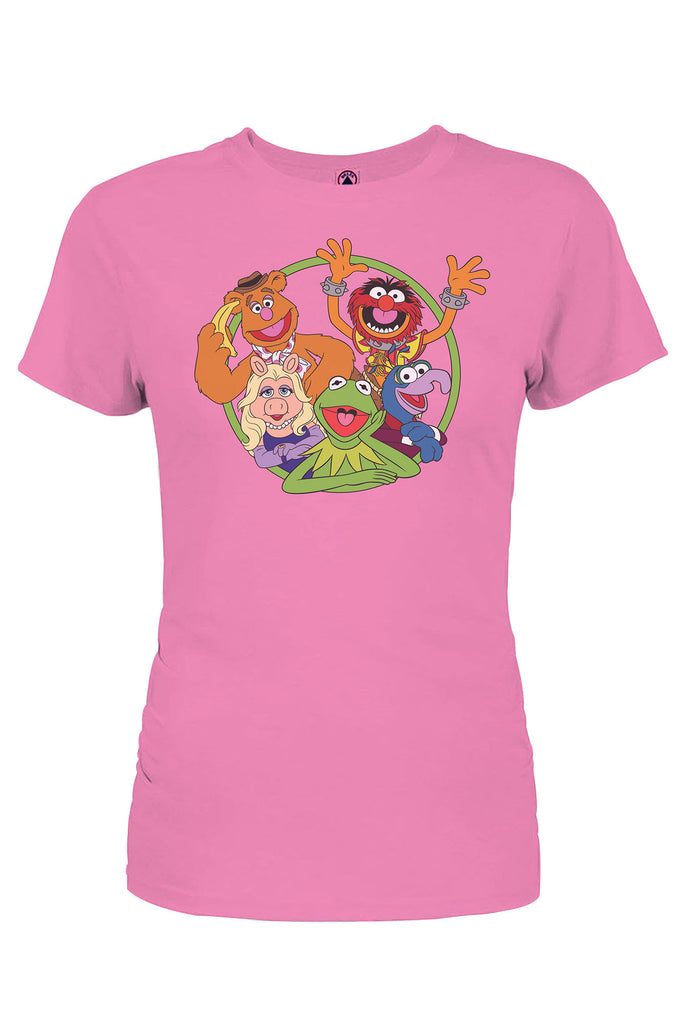Aao Fashion Women Muppets Crew Circle Graphic Tee