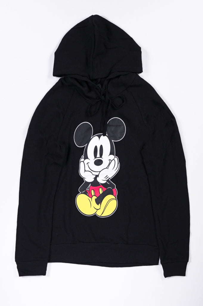 Aao Fashion Women Mickey Graphic Hoodie
