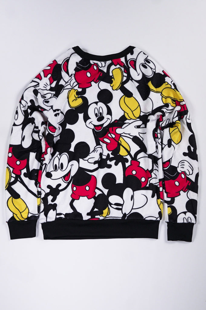Aao Fashion Women Mickies All Over Printed Crew