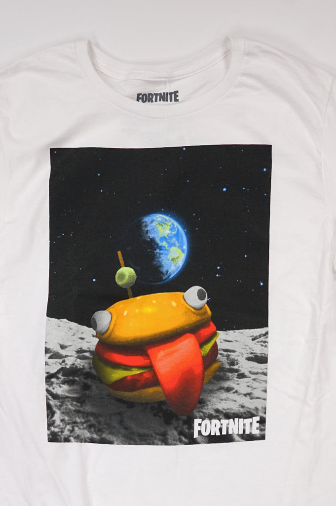 Aao Fashion Men Graphic S/S Tee Fortnite Burger Space
