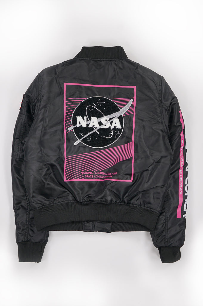 Southpole Women Nasa Padded Ma1 Jacket