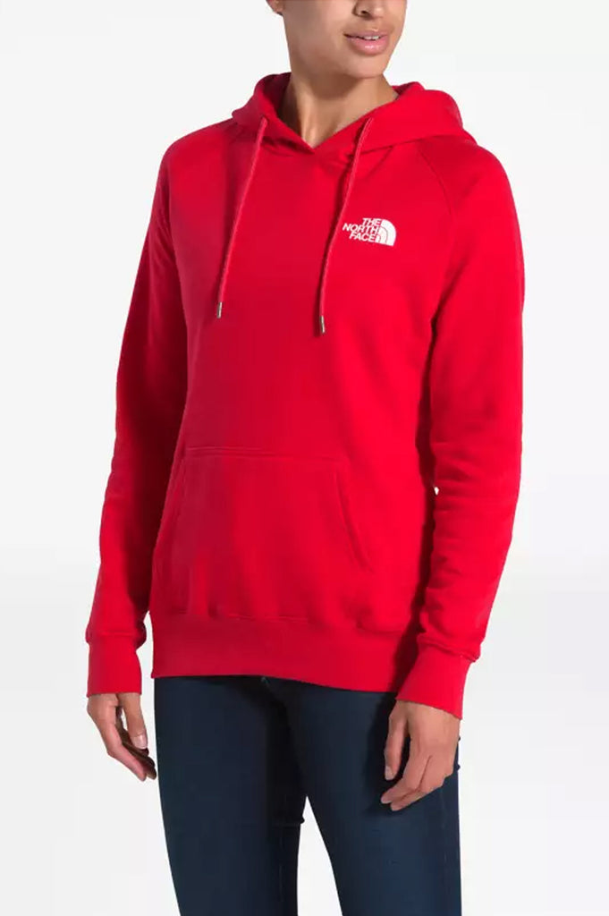 North Face Women Red Box Pullover
