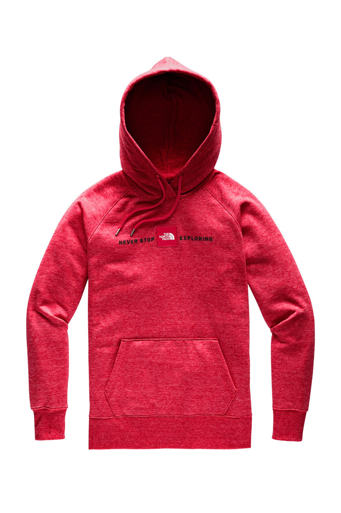 North Face Women Red`S Pullover Hoodie