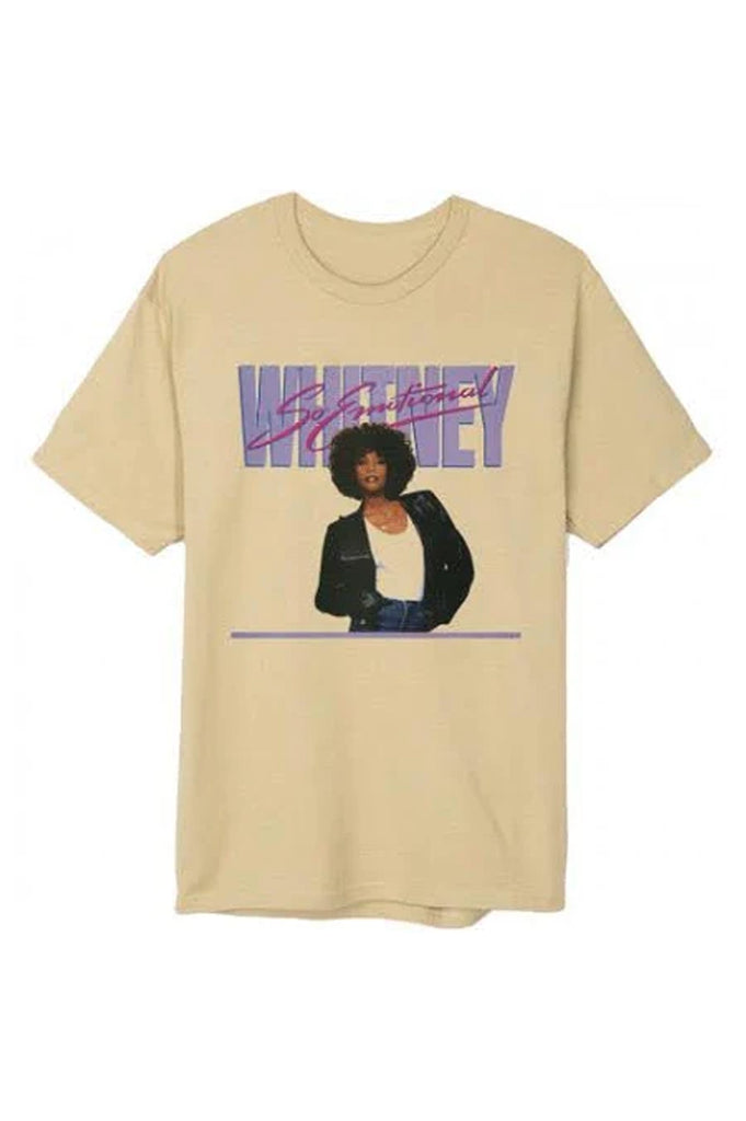 Aao Fashion Men Whitney Houston So Emotional S/S Tee