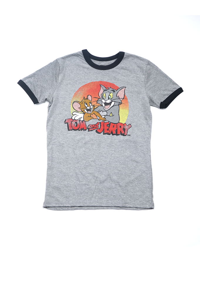 Aao Fashion Women Tom Jerry Graphic S/S Tee
