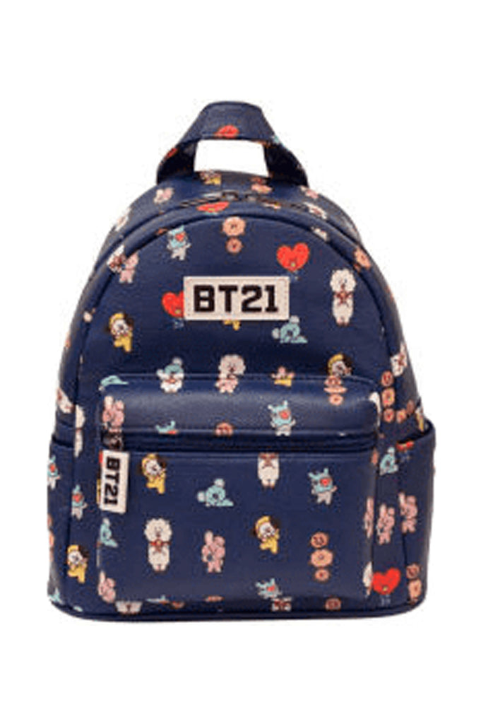 Aao Fashion Acc Bt21 Group Pattern Mini Backpack