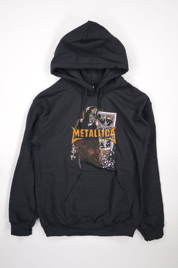 Aao Fashion Men Metallica Graphic Pullover Hoodie