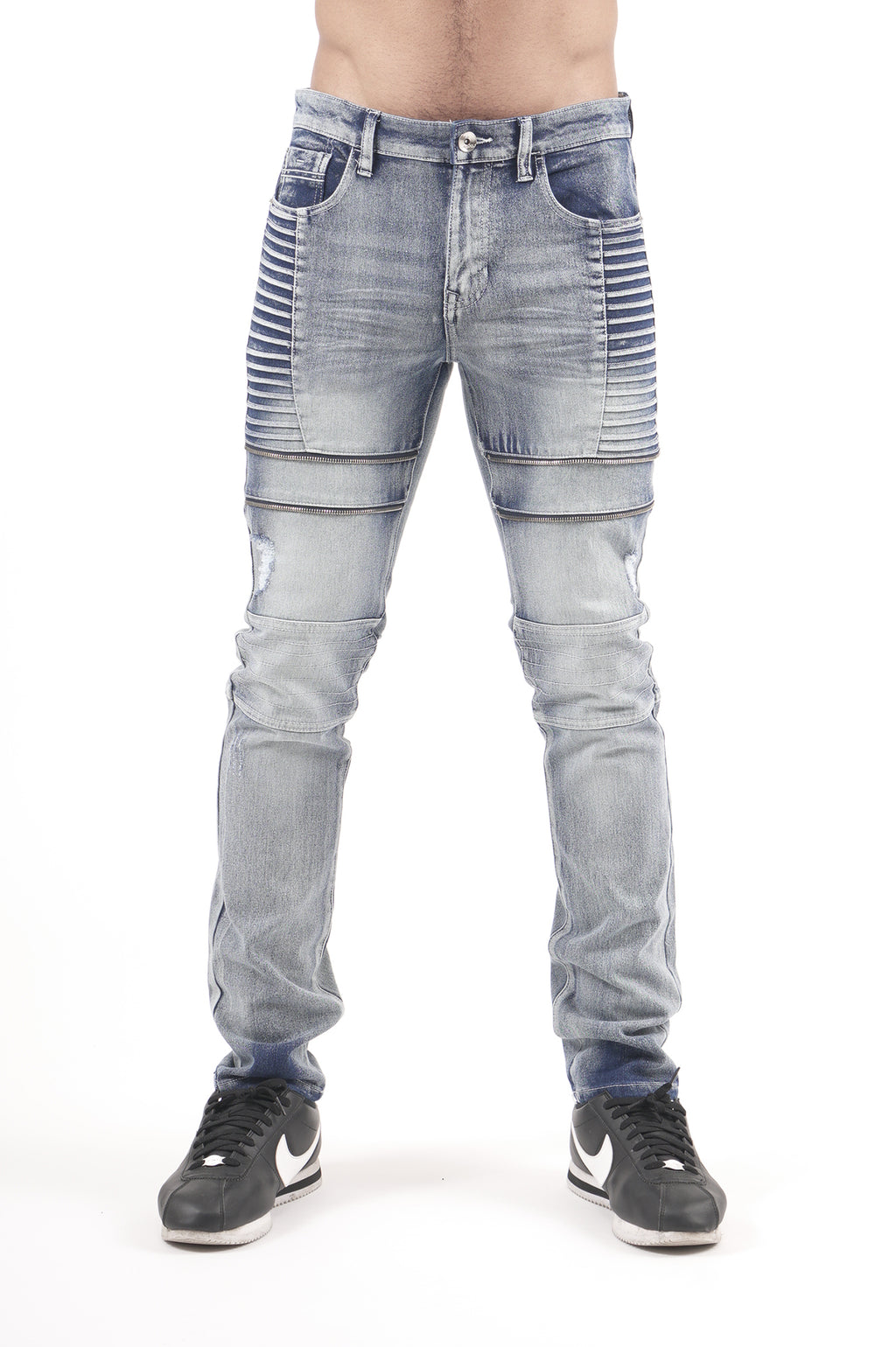 Southpole Men Biker Denim