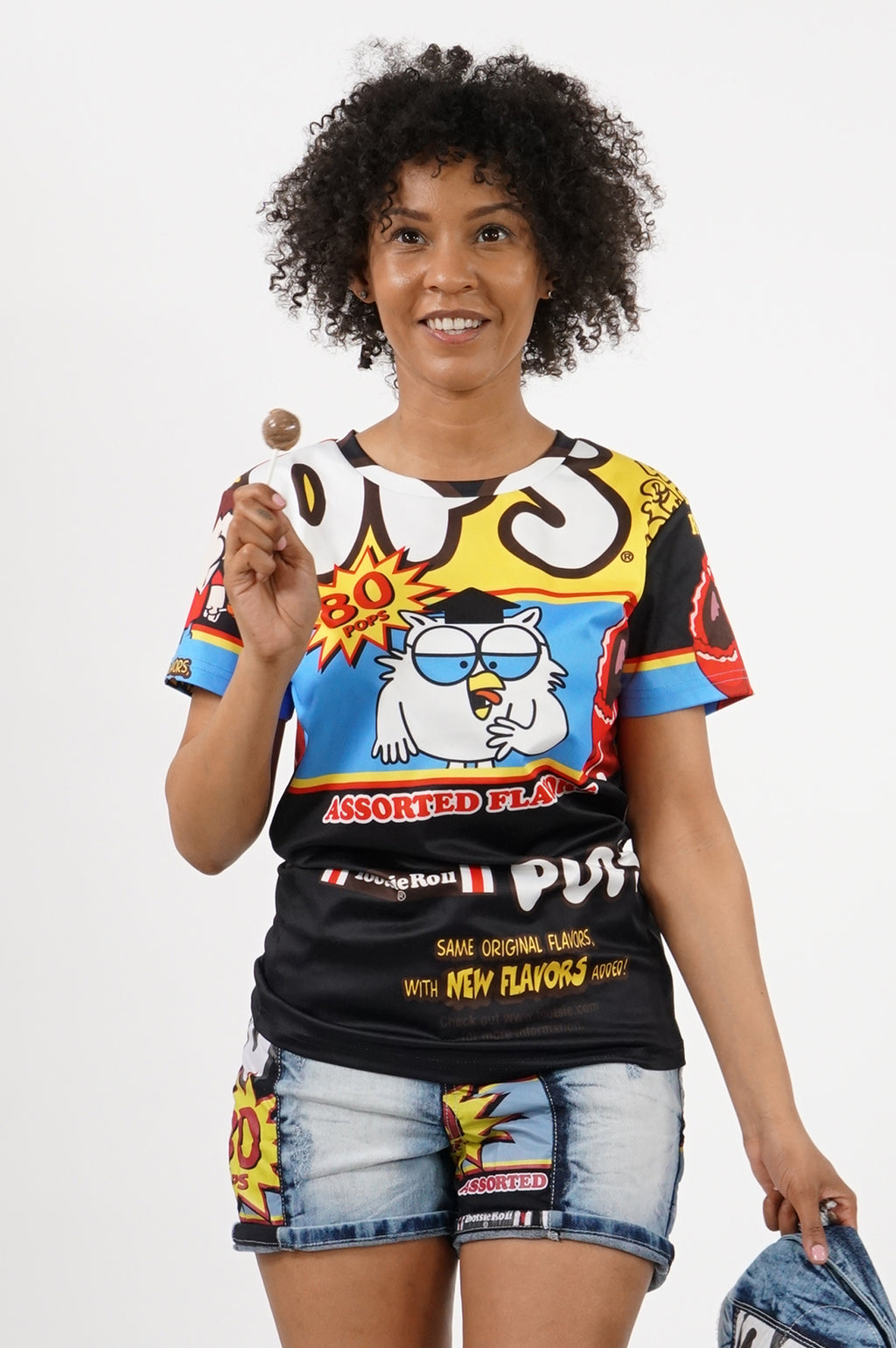 Southpole X Tootsie Women Sublimation T-Shirts