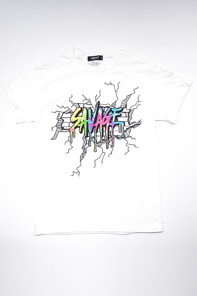 Aao Fashion Men Savage Graphic Tee