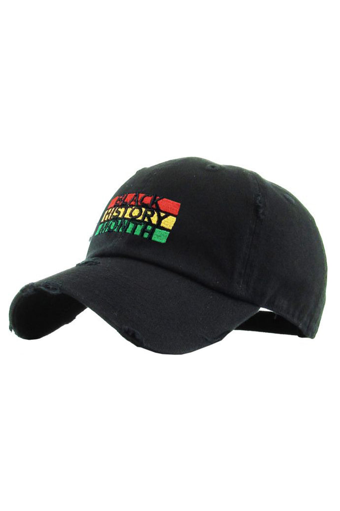 Aao Fashion Acc Dad Hat Black History Month