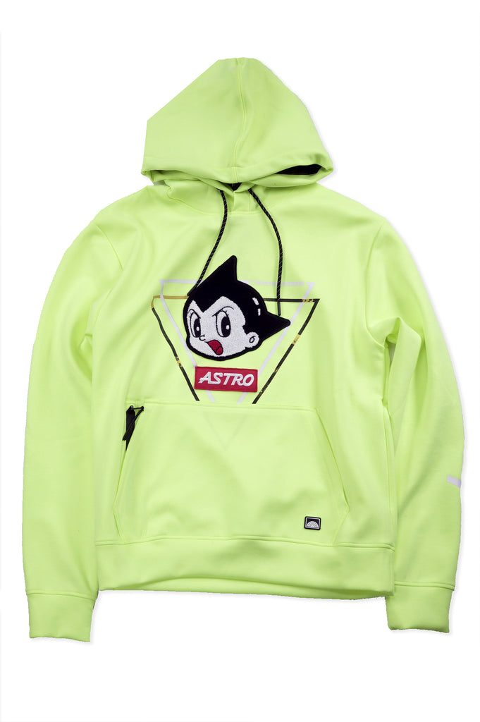 Southpole Men Astro boy Power Fleece Pullover Hoodie