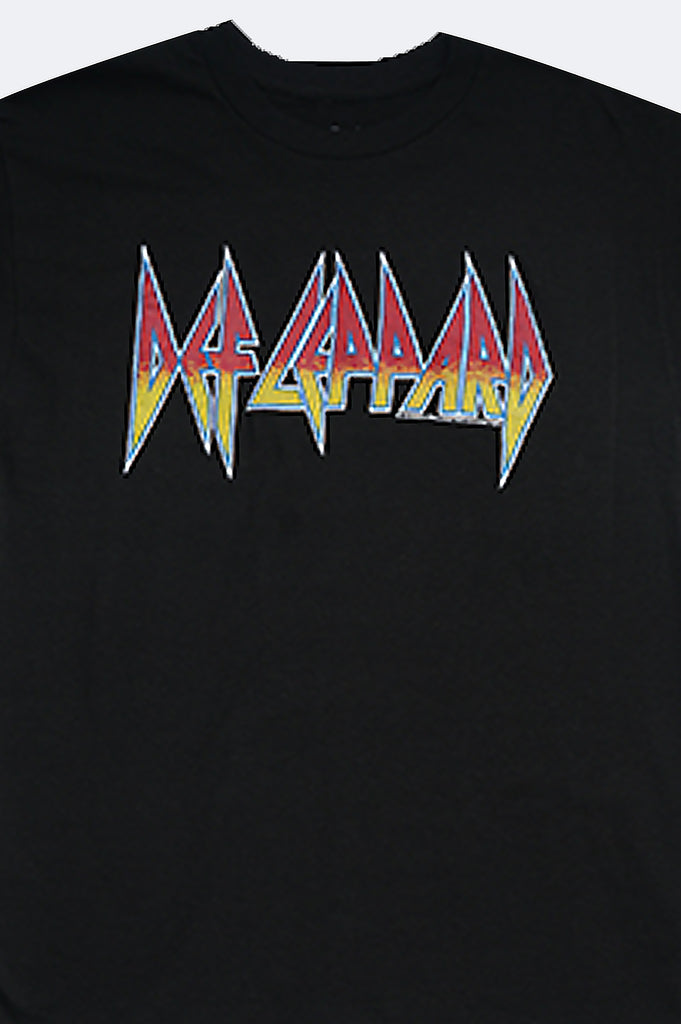 Aao Fashion Men Def Leppard Graphic Tee