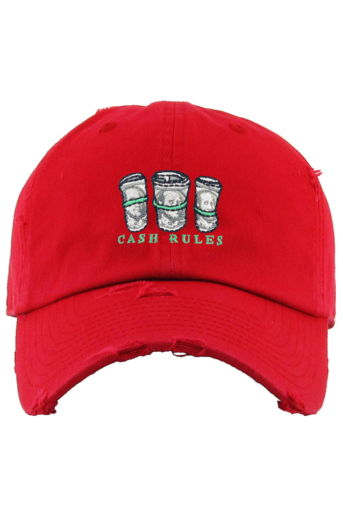 AAO FASHION ACC DAD HAT CASH RULES