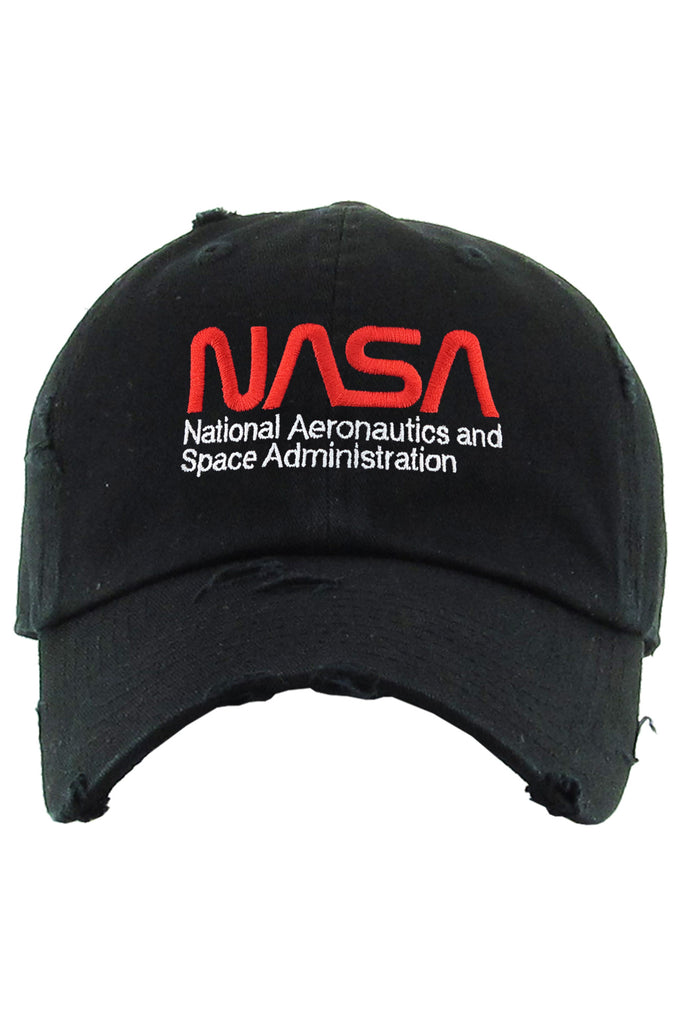 AAO FASHION ACC NASA VINTAGE DAD HAT