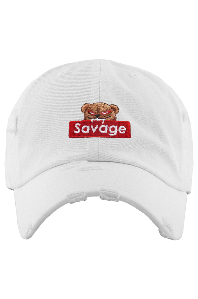AAO FASHION ACC DAD HAT SAVAGE BEAR VINTAGE