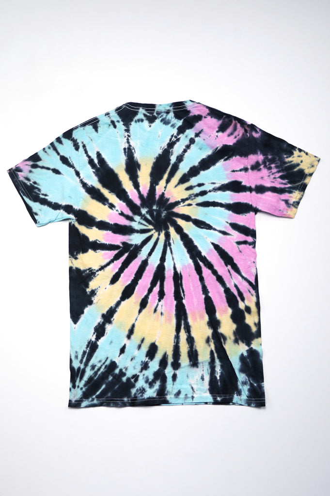 Aao Fashion Women Acdc Tie Dye Graphic Tee
