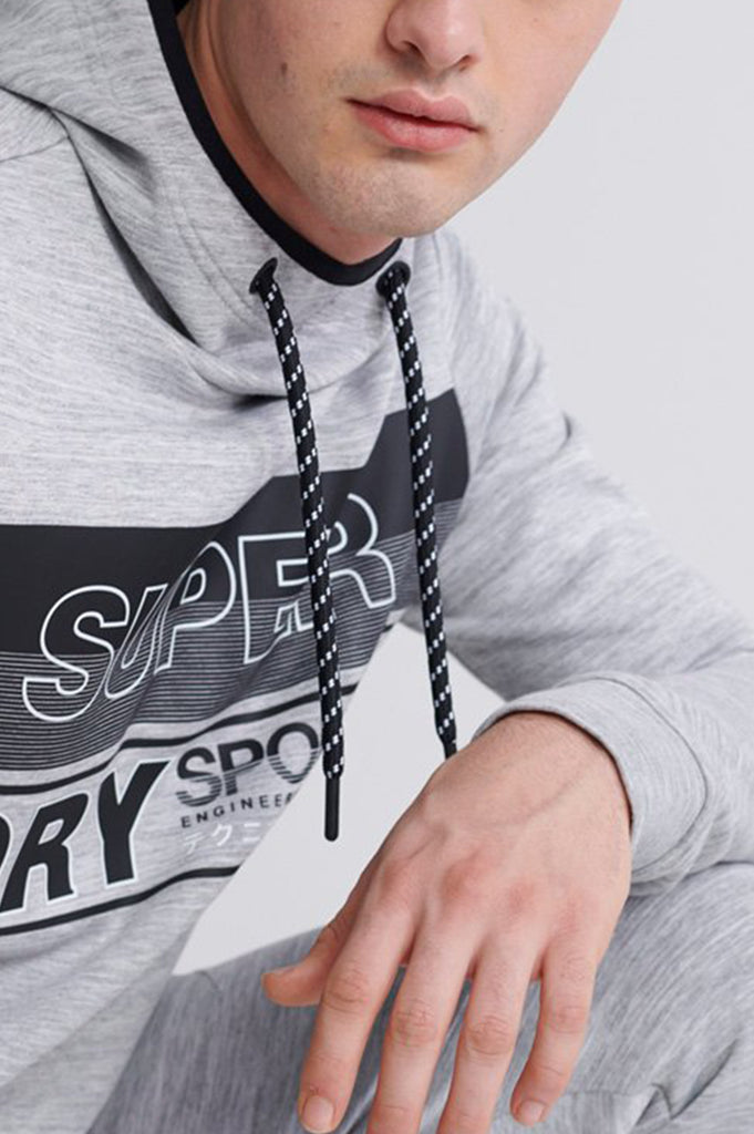 Superdry Men Gymtech Graphic Overhead