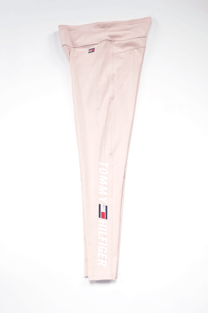 Tommy Hilfiger Activewear Women Midrise Full Length Logo Legging