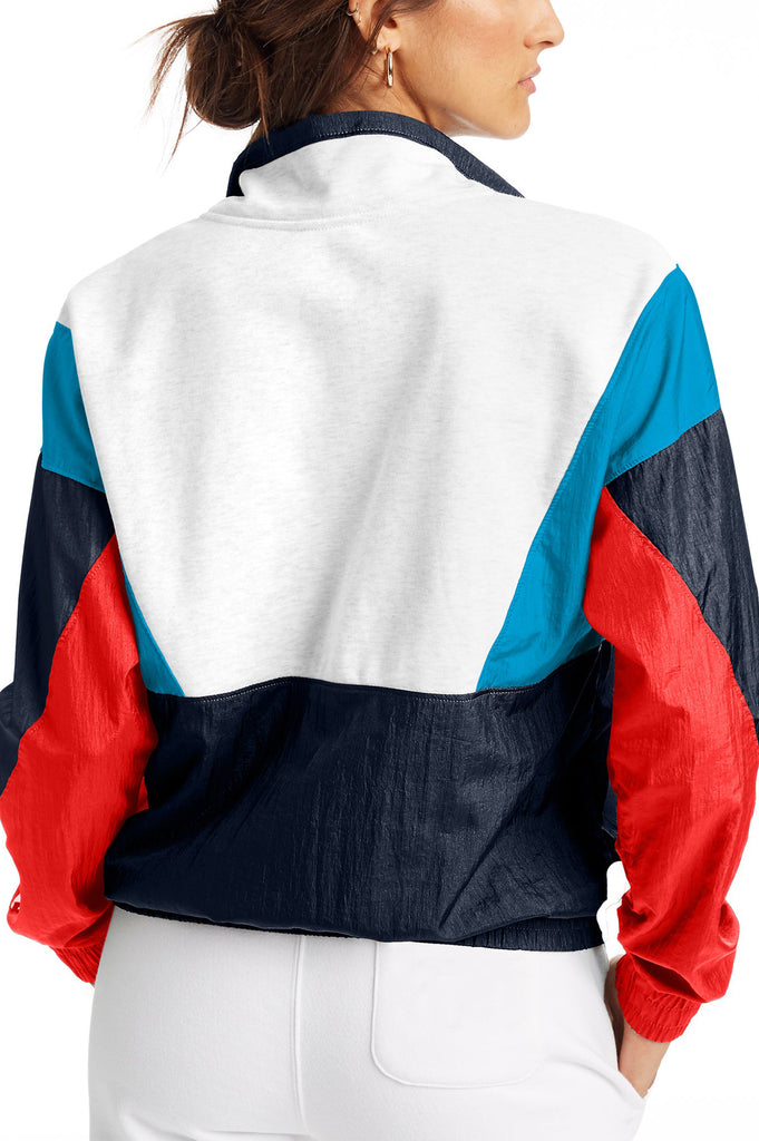 Champion Women Mixed Media Pullover
