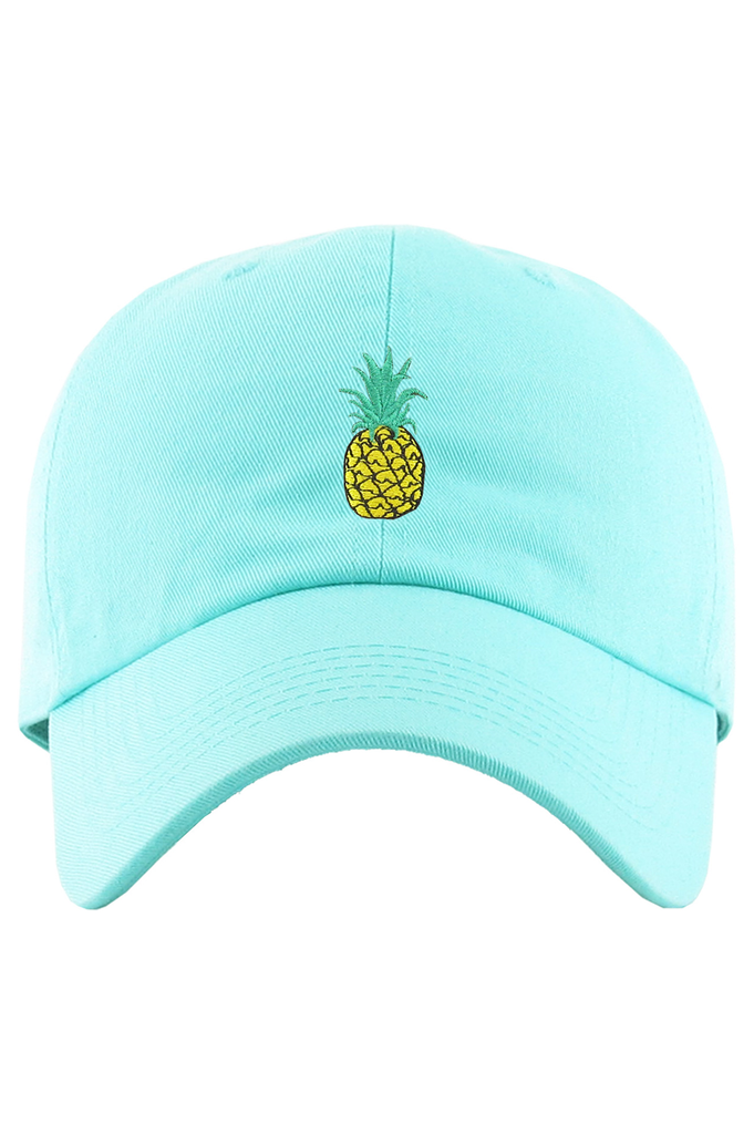 Aao Fashion Acc Pineapple Dad Baseball Cap