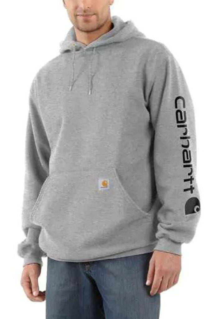 Carhartt Men Midweight Hooded Logo Sweatshirt