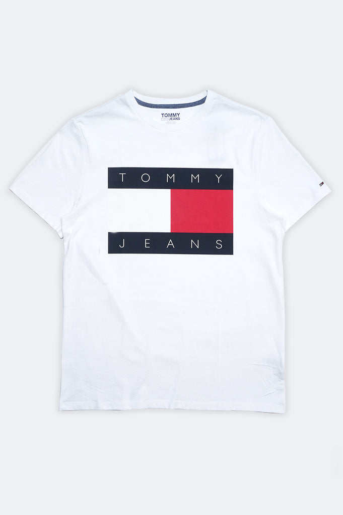 Tommy Jeans Men Flag Tee