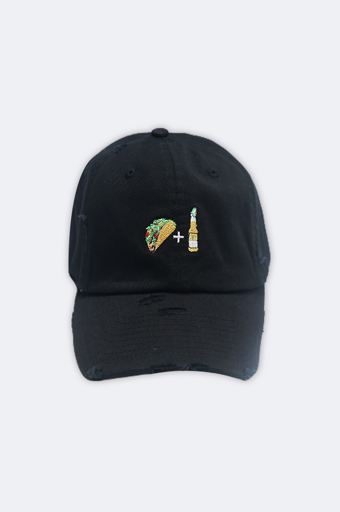 Aao Fashion Acc Dad Hat Tacos And Beer