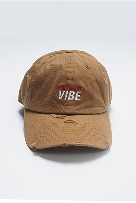 Aao Fashion Acc Dad Hat Dont Kill My Vibe