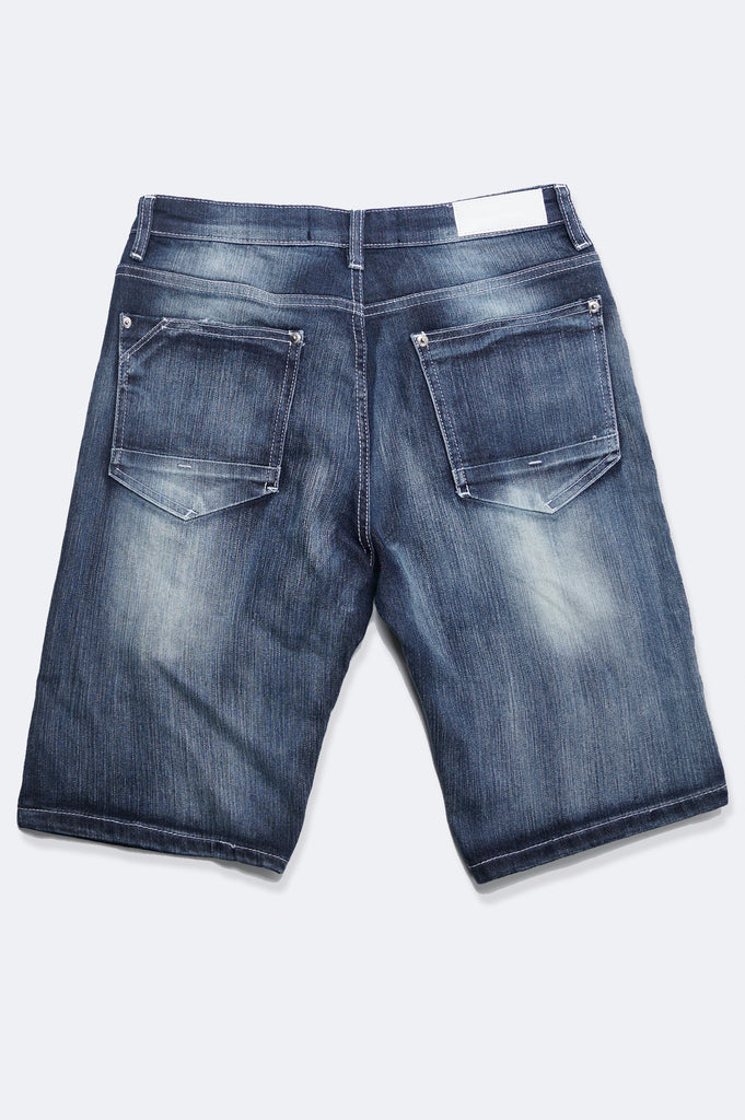 Aao Fashion Men Rip & Repair Denim Shorts